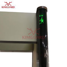 China Commercial  Multi Zone Door Frame Metal Detector With Pacing Traffic Light K633P supplier