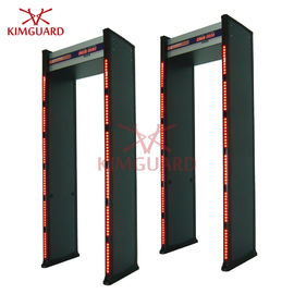 China Hardware Security Guard Metal Detector Gate , Walk Through Security Door Scanner Mobile supplier