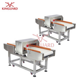 China Bilingual Language Metal Detector Sensitivity Food Industry Frozen Packages Customized supplier