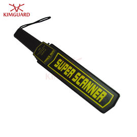 China Strong Personal Hand Held Security Metal Detectors For Reclaimed Lumber Yellow Light supplier