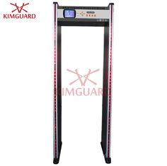 China Hotel Bidirectional Security Metal Detectors Multi Zone DFMD With LED Indicator K606 supplier