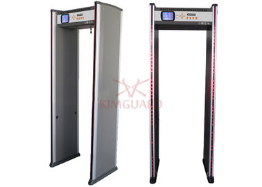 China Checkpoint Hotel Wtmd Metal Detectors Security Screening Gray Black Remote Control supplier