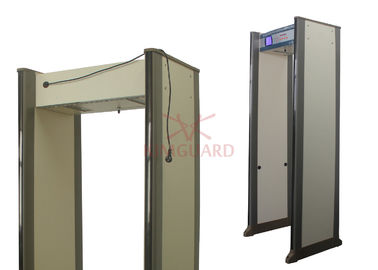 China 45 Pinpoint Zones Security Metal Detectors , Exhibition Walk Through Body Scanners supplier
