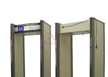 China 45 Zone Walk Through Metal Detector , Bidirectional Weapson Metal Detector Scanner supplier