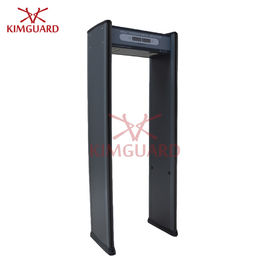 China 6 Zone Security Metal Detectors , Body Walk Through Scanner Factories Hardware factory