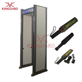 Electronic Multi Zone Security Walk Through Metal Detector Gate  Bidirectional 45 Zones