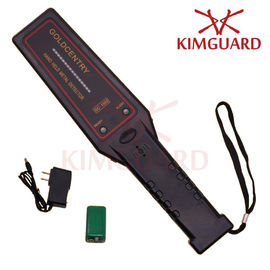 China High Performance Hand Held Metal Detector For Woodworkers ,  Police Handheld Security Scanner factory