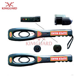 China Power Switch Control Hand Held Security Metal Detectors Wand Courts Security Sound / Vibrate distributor