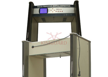 China Remote K645 Embassy Airport Security Metal Detectors Harmless To People 45 Pinpoint Zones distributor