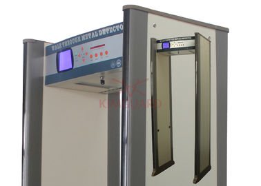 China Checkpoint Portable Walk Through Metal Detector Security Screening 15 Horizontal Detection Zones distributor
