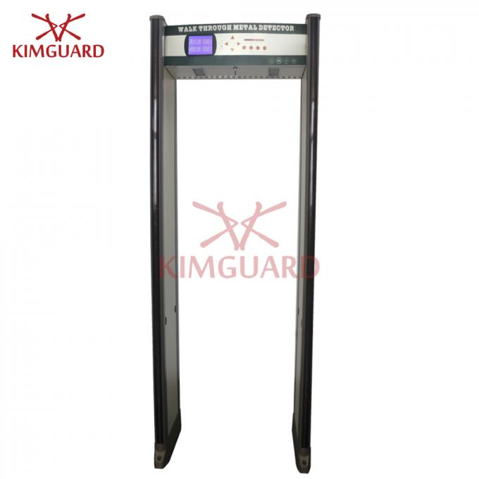 45 Pinpoint Zones Security Metal Detectors , Exhibition Walk Through Body Scanners