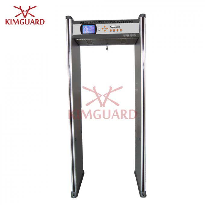 Remote Control 18 Zones Deep Search Archway Metal Detector For Public Landmarks