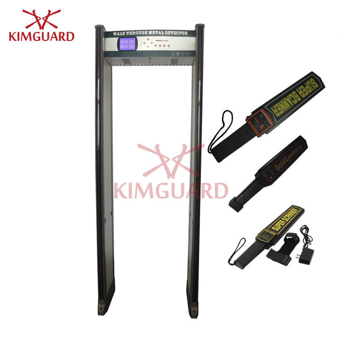 KimGuard Walk Through Metal Detector gate