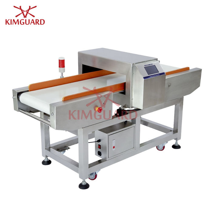 Bilingual Language Metal Detector Sensitivity Food Industry Frozen Packages Customized