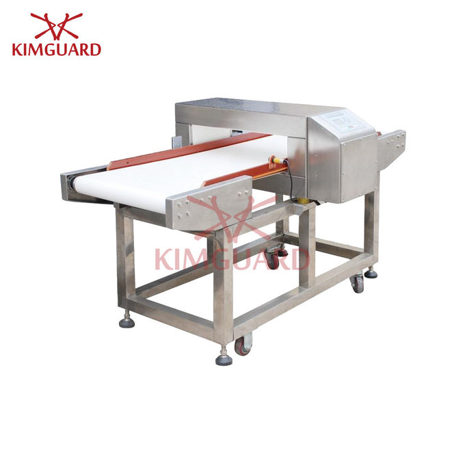 Touch Screen Conveyor Type Needle Metal Detector Food Safety For Dry Seafood