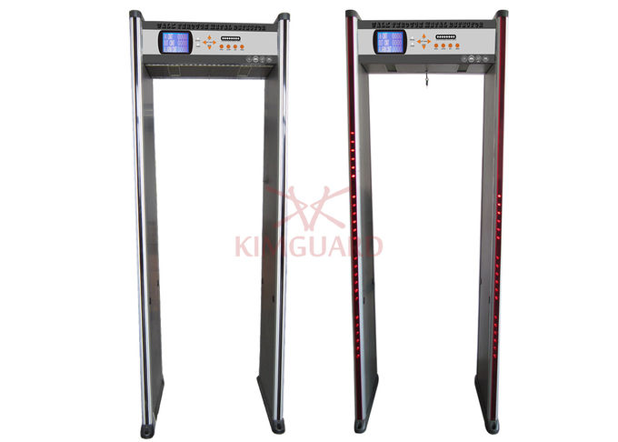 Bilingual Advanced Technology Walk In Metal Detector Gate Knife Inpection With People Counter